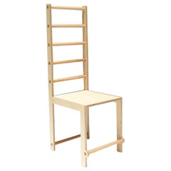 Waka Waka Contemporary Tall Ladder Back Wood Dining Chair