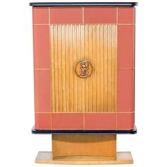 1930s Rare Art Deco Cabinet Attributed to Jacques Adnet