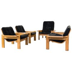 1960s Extremely Rare Yngve Ekström Seating Group for Swedese Møbler