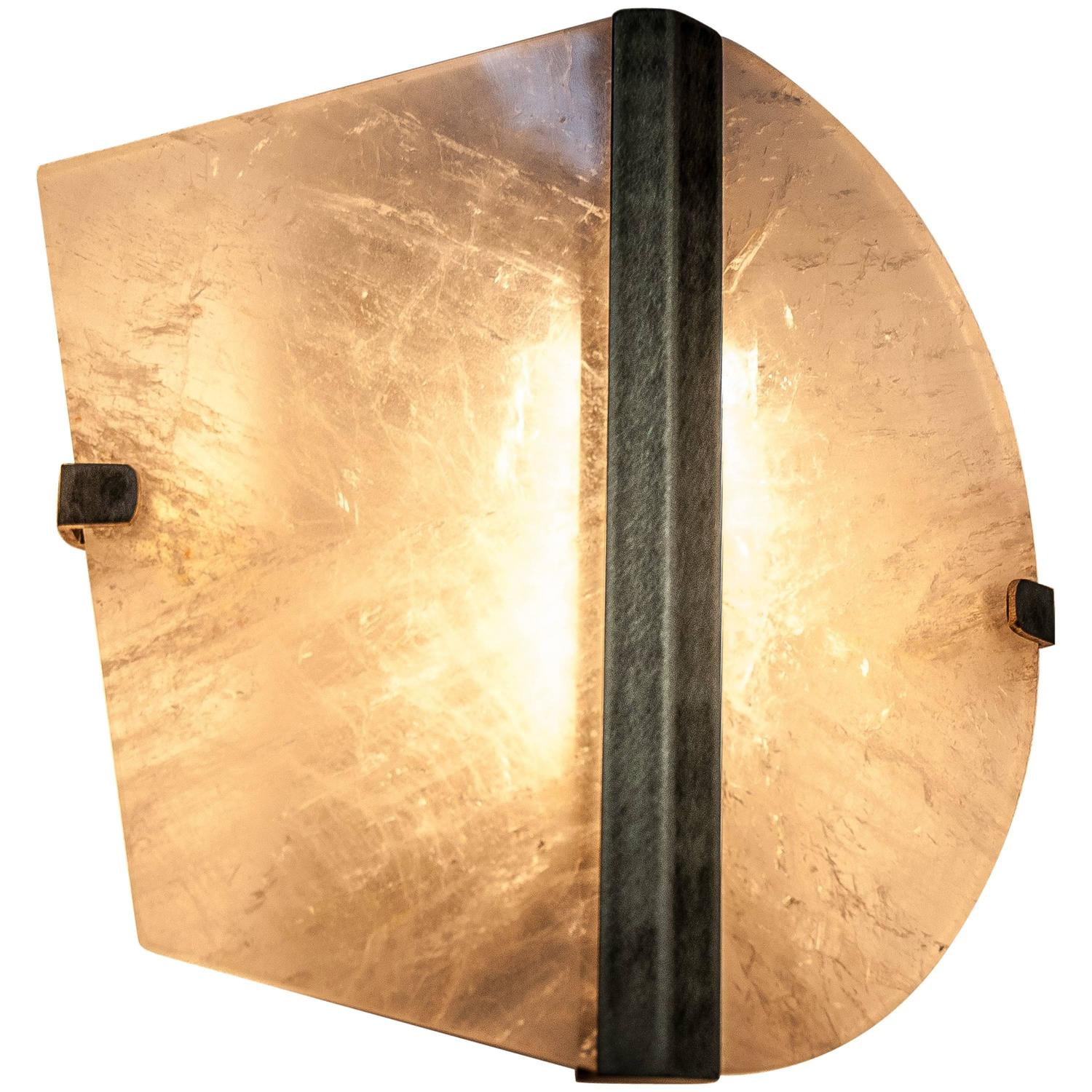 Onyx Wall Lights and Sconces - 15 For Sale at 1stdibs