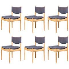 1960s Kristian Solmer Vedel Dinning Chairs for Soren Willadsen