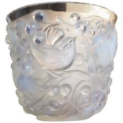 """Avallon"" Opalescent Vase by Rene Lalique, circa 1927"