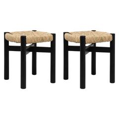 Pair of Stools by Charlotte Perriand for Meribel, circa 1950
