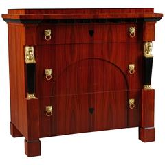 Beautiful Chest of Drawers in Empire Style
