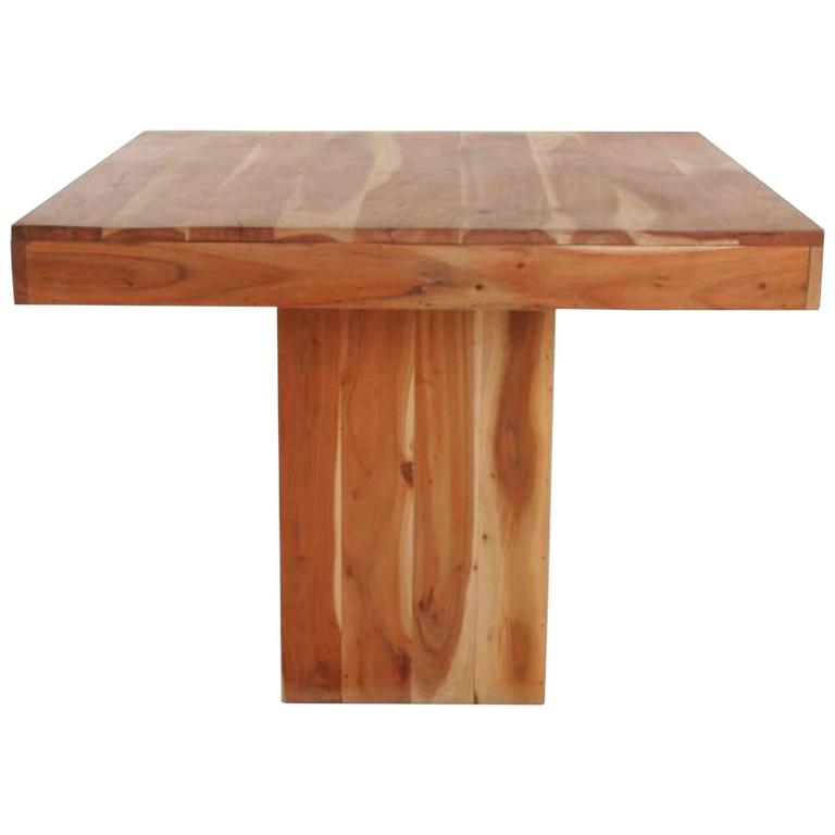 Building Block Dining Table For Sale