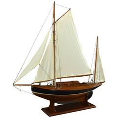 Yawl Pond Yacht Model c1925