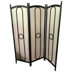 Thonet  bentwood Nr 1 Folding Screen, circa 1900, Spanische Wand