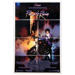 """Purple Rain"" Film Poster, 1984"