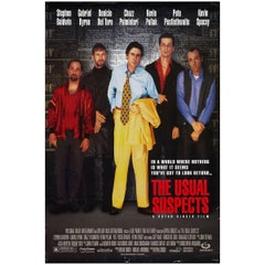 """""""The Usual Suspects"""" Film Poster, 1995"""