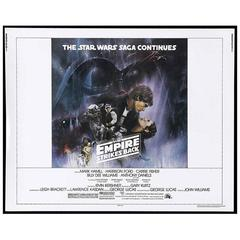 """Empire Strikes Back"" The Film Poster, 1980"