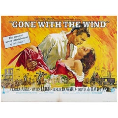"""""""Gone With The Wind"""" Film Poster, 1970"""