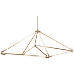Bec Brittain Shy 08.1 Brass LED Chandelier