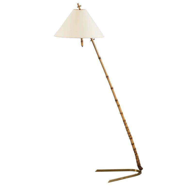 Bamboo Floor Lamp by J.T. Kalmar 1