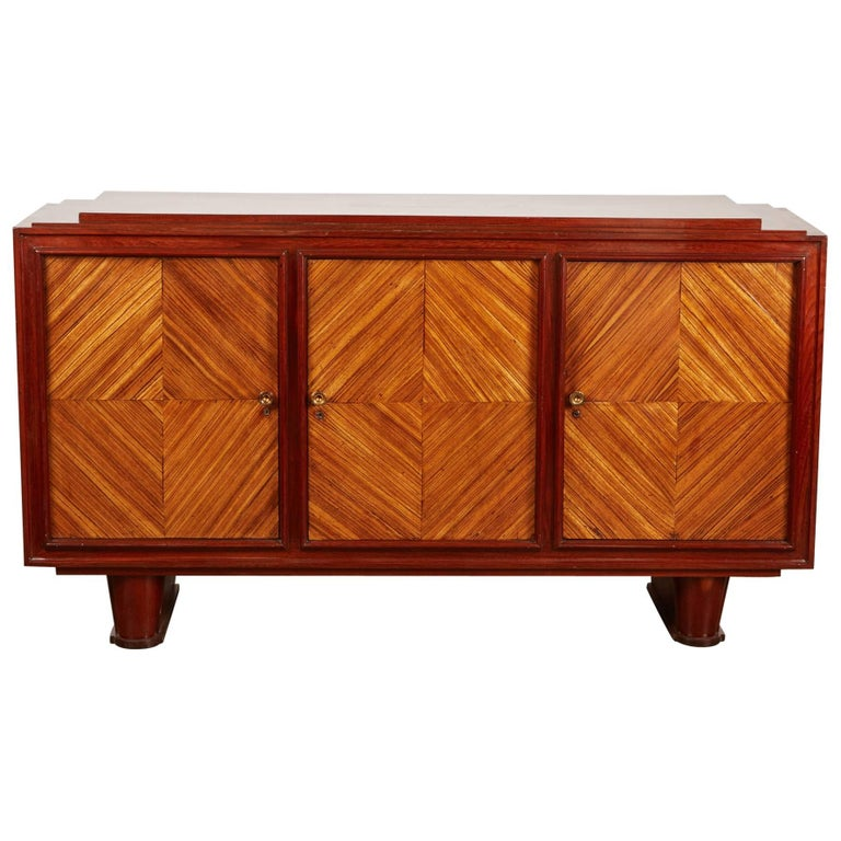 20th century colonial deco sideboard for sale at 1stdibs