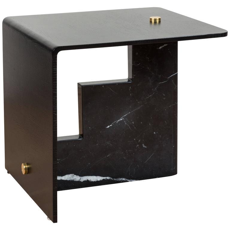 Huxley Side Table by Lawson-Fenning For Sale