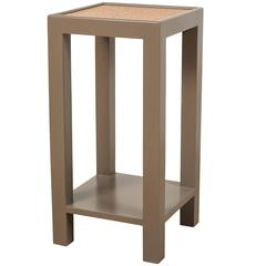 Square Narrow Side Table by Lawson-Fenning