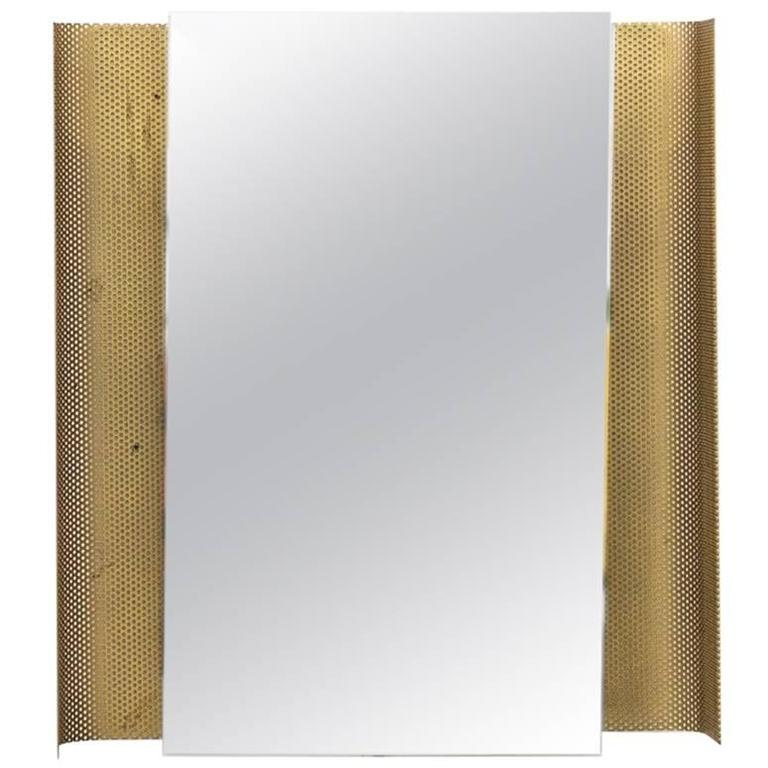 Artimeta Soest Rectangle Wall Mount Perforated Mirror For Sale
