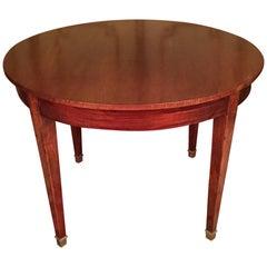 19th Century Biedermeier Table Mahogany