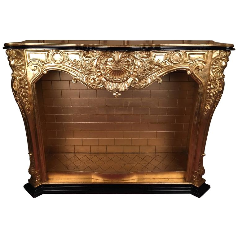 20th Century Louis Xv Decorative Fireplace For Sale At 1stdibs