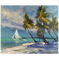 'Treasure Coast' Florida Impressionism by Robert C. Gruppe