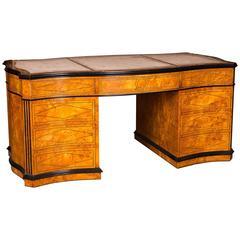 20th Century High Quality English Desk in the Biedermeier Style