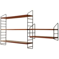 Two Mid-Century Wall Shelves