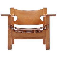 Spanish Chair by Børge Mogensen for Fredericia, Denmark