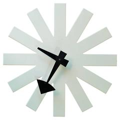 "George Nelson for Howard Miller ""Asterisk"" Wall Clock"