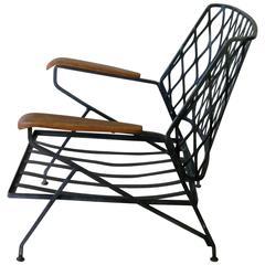 Salterini Lounge Chair Designed by Maurizio Tempestini