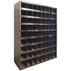 Vintage Industrial Storage Unit