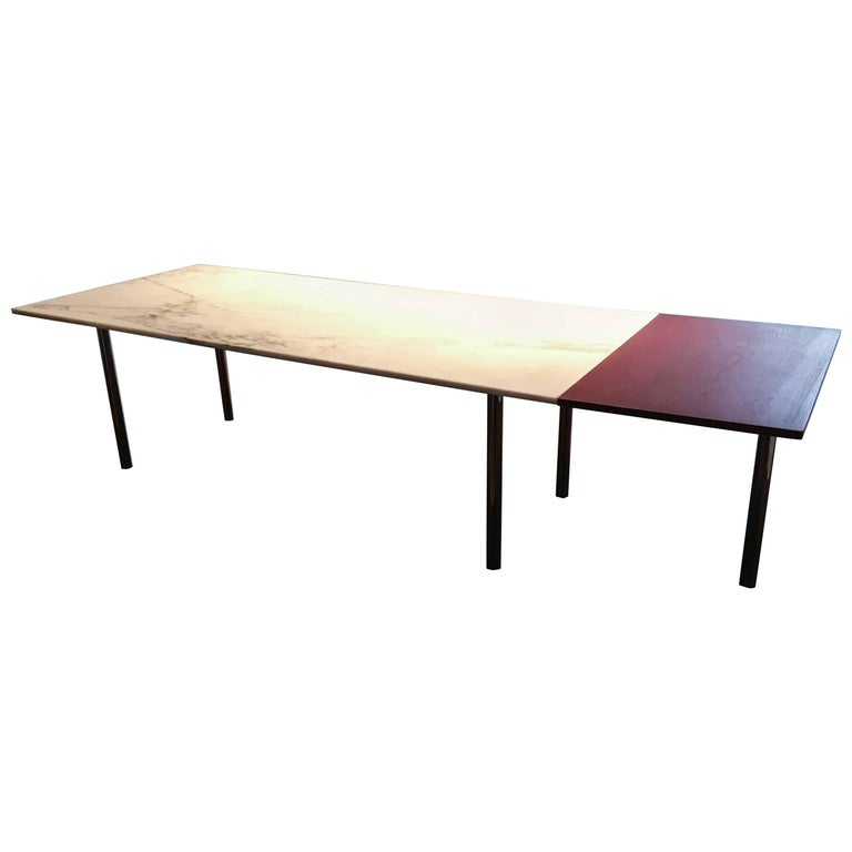 Elaine Lustig Cohen Marble Extension Table 1