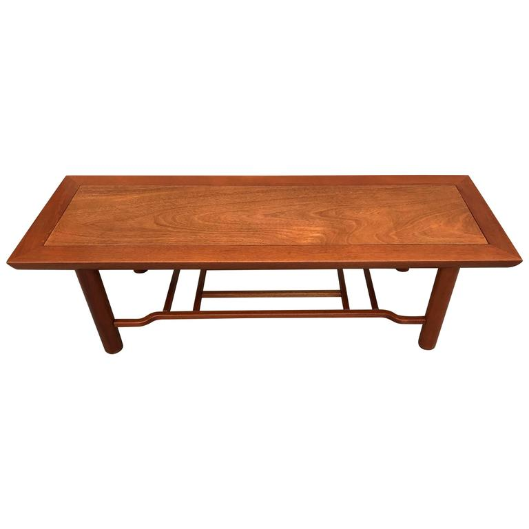 Mahogany Coffee Table By Heritage Henredon For
