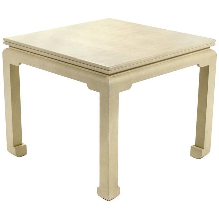 Karl Springer Flip-Top Game / Dining Table For Sale