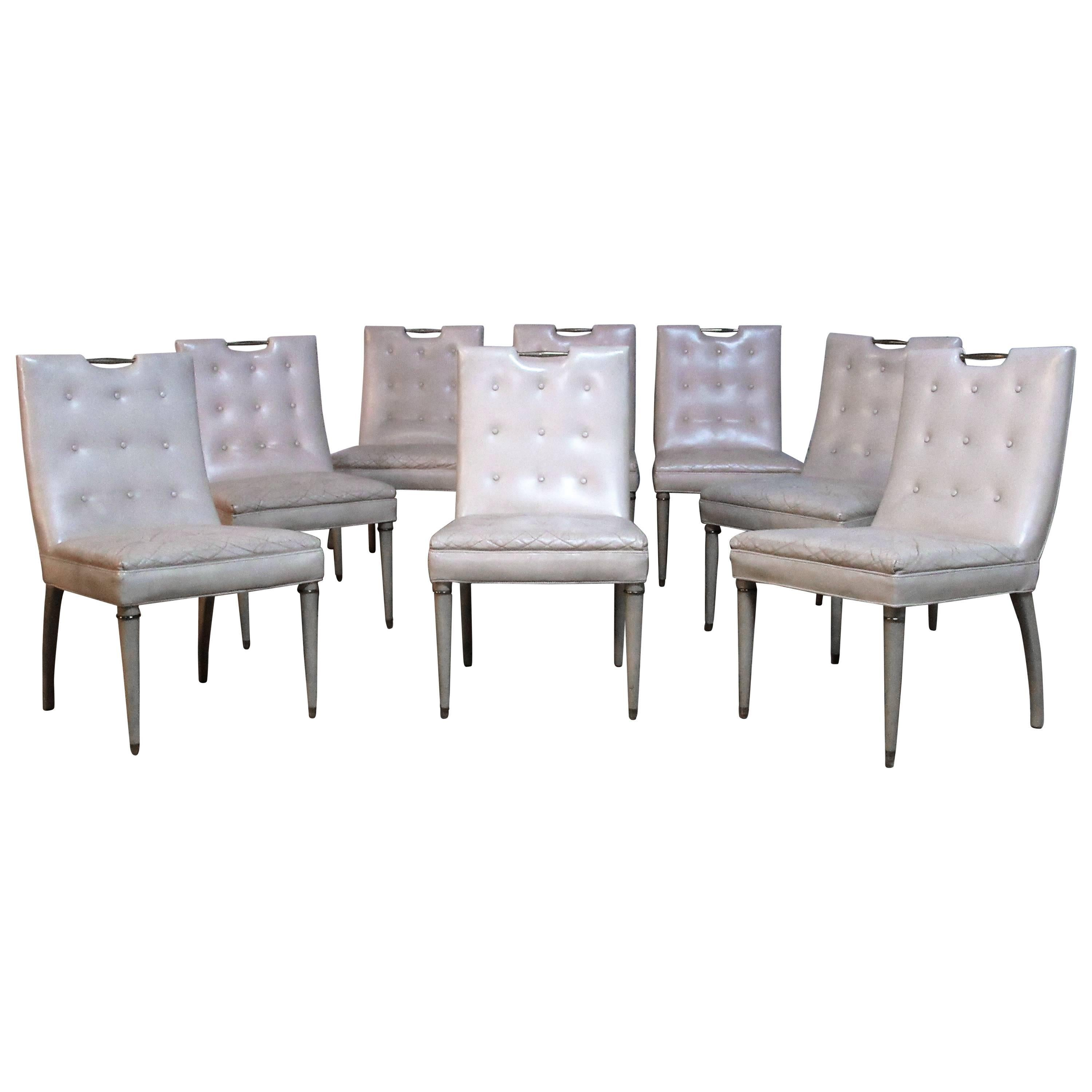 9a77082ef9d Hollywood Regency Dining Chairs