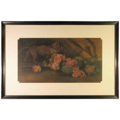 "Gertrude a Lambert W/C ""Still Life with Roses"""