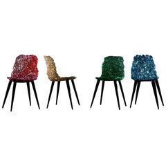 Edra Gina Chair Set of Four by Jacopo Foggini