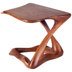 Amorph Tryst Side Table, Stained Walnut,