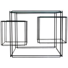 Graphical Isocele Nesting Tables by Max Sauze for Arrow, 1970s