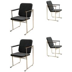 Set of Four Finnish Armchairs Designed by Yrjö Kukkapuro for Avarte Finland