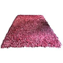 Jack Lenor Larsen Rose Colored Suede Carpet