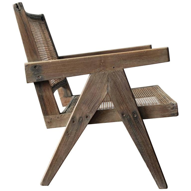 Pierre Jeanneret Easy Armchair, circa 1955 1