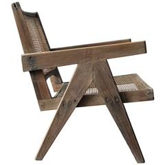 Pierre Jeanneret Easy Armchair, circa 1955