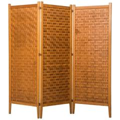 Folding Screen or Room Divider by Alberts in Sweden