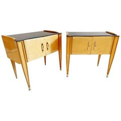 Pair of 1950s Italian Nightstands