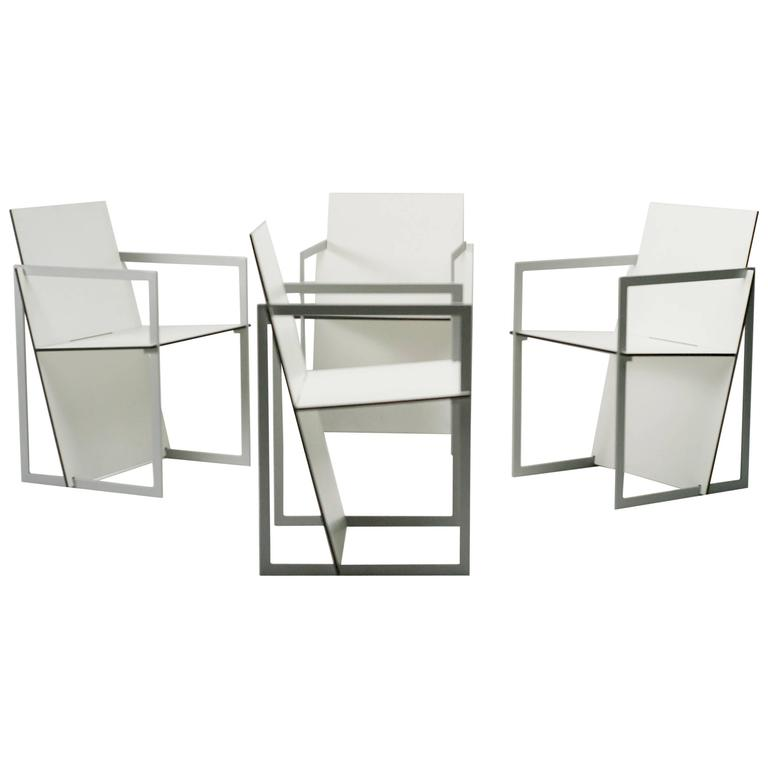 Dutch Design, Spectro Chairs Inspired by De Stijl and Gerrit Rietveld