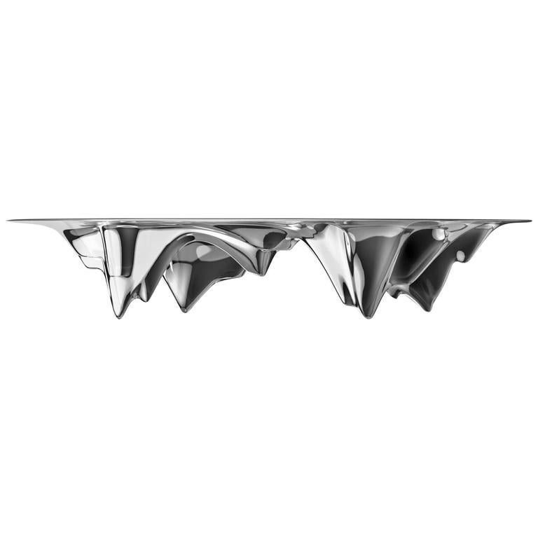 MAD Martian Long Aluminium Dining Table
