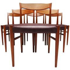 Danish Dining Chairs by Soro Stolefabrik