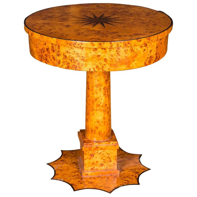 Dining Room Table Sale: Dining Room Table In The Biedermeier Style For Sale At 1stdibs