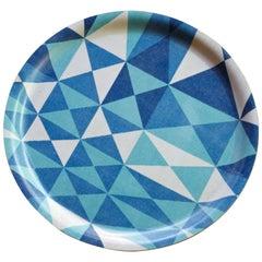 Sven Markelius / Viola Grasten Pythagoras Geometric Plywood Cocktail Drinks Tray