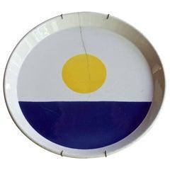 Fantasia Italiana Gio Ponti Plate Wall Art Vintage Mid-Century Italy Design